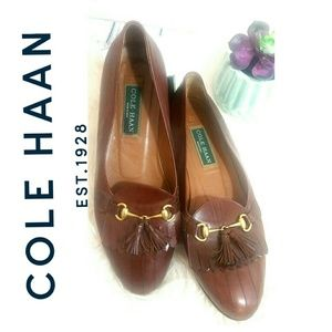 ❣CHIC & CLASSY LOAFERS GOLD COLOR HARDWARE TASSEL
